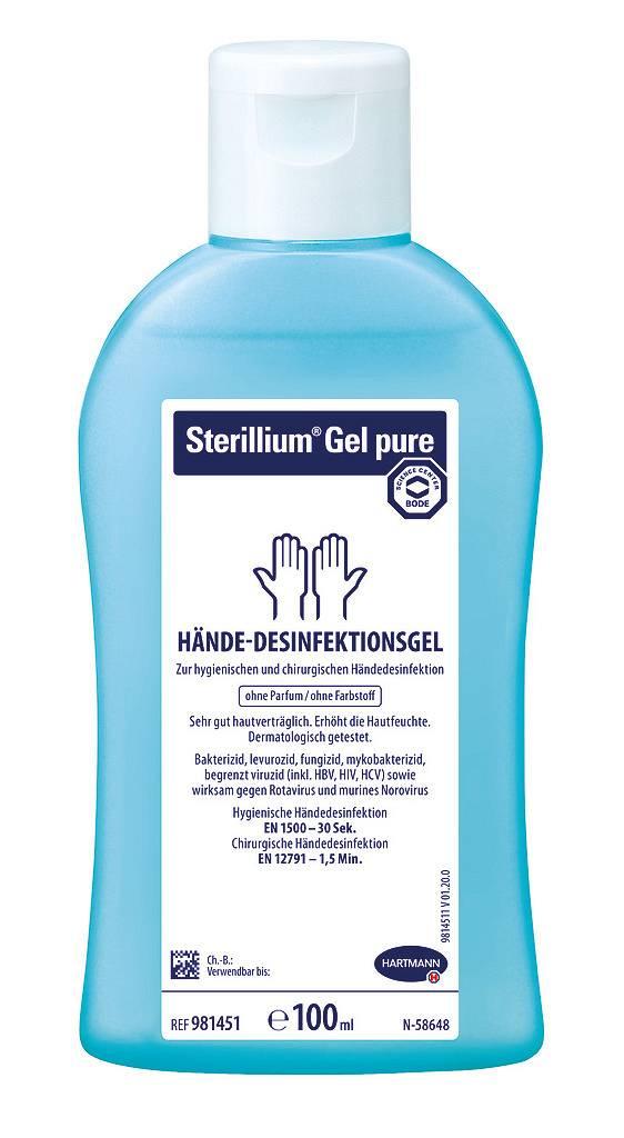 Sterilliumgel pure, 100 ml