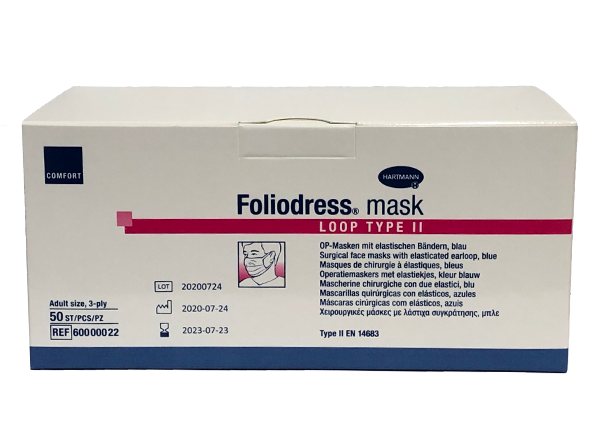 Foliodress mask LOOP TYPE II